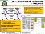 centcom partner network cpn framework