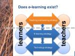 does e learning exist1