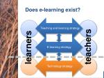 does e learning exist2