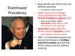 eisenhower presidency1