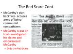 the red scare cont