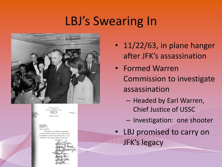 the warren commission on the jfk assassination The president's commission on the assassination of president kennedy, known unofficially as the warren commission, was established by president lyndon b johnson through executive order 11130 on november 29, 1963 to investigate the assassination of united states president john f kennedy that had taken place on november 22, 1963.