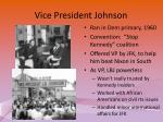 vice president johnson
