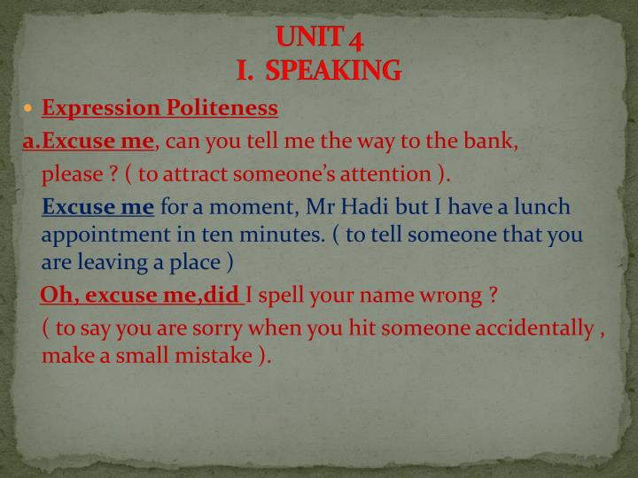 unit 4 i speaking n.
