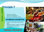 principle 71