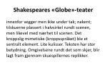 shakespeares globe teater