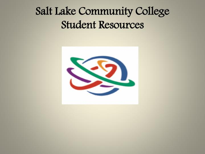 salt lake community college student resources n.