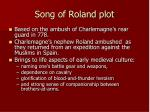 song of roland plot