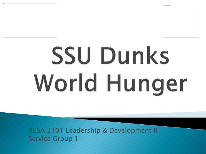 ssu dunks world hunger n.