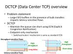 dctcp data center tcp overview