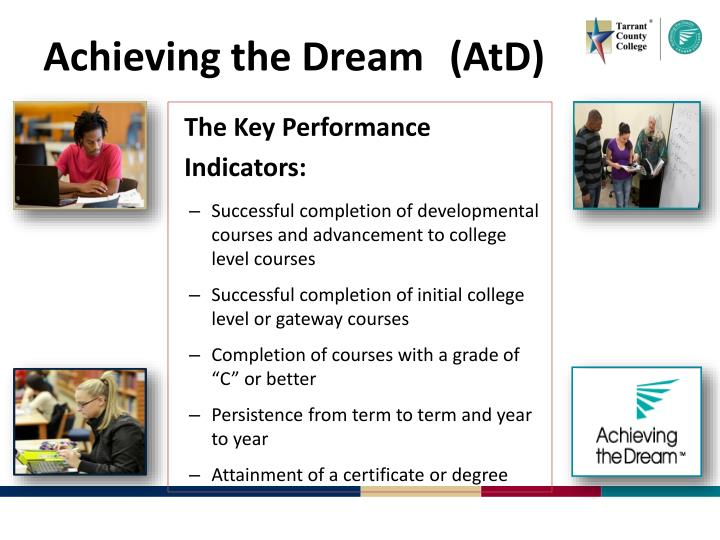 achieving t he dream atd n.