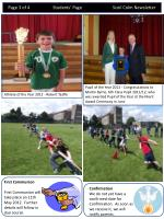 page 3 of 4 students page scoil colm newsletter