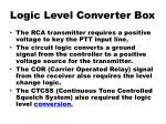 logic level converter box