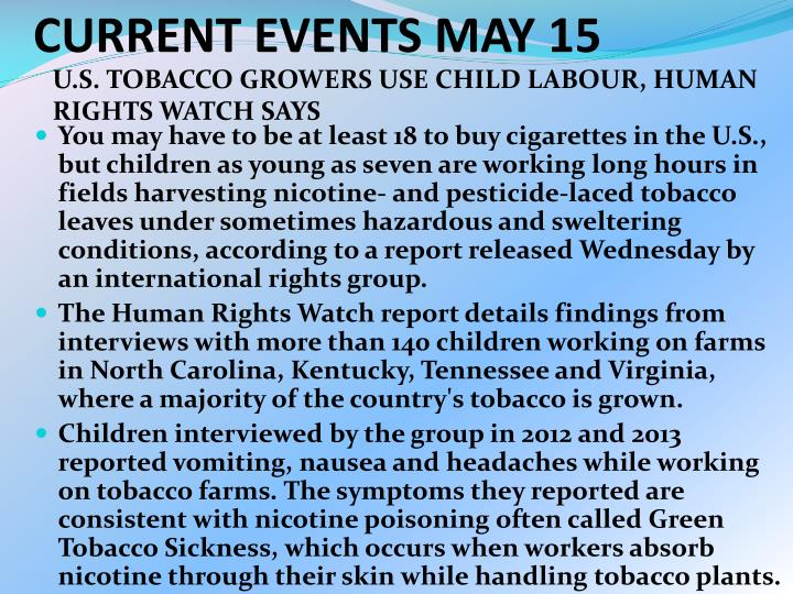 current events may 15 n.