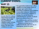 current events may 151