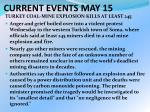 current events may 152