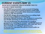 current events may 154