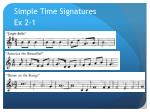 simple time signatures1