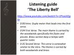 listening guide the liberty bell