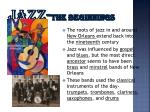 jazz the beginnings