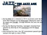 jazz the jazz age