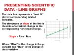 presenting scientific data line graphs1