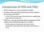 comparison of fdd and tdd