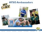 ayso ambassadors