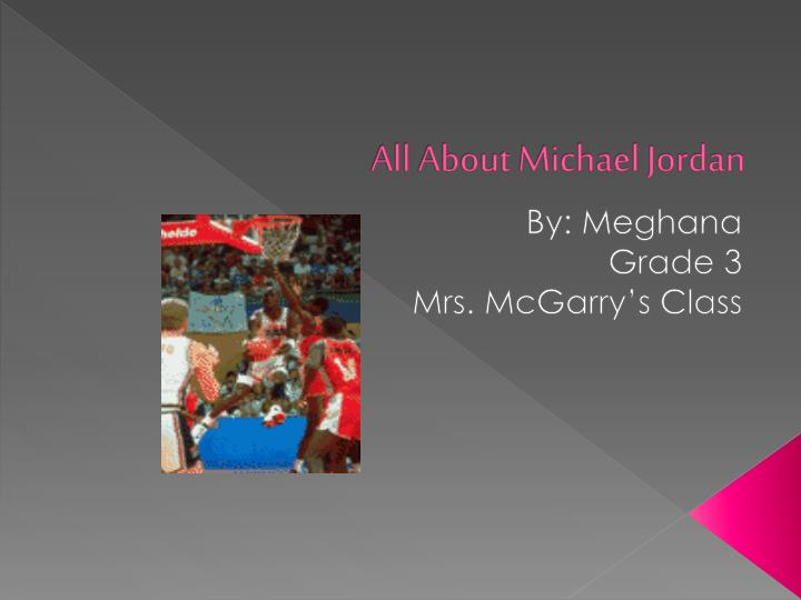 all about michael jordan n.