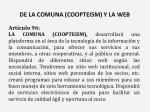 de la comuna coopteism y la web
