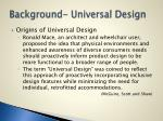 background universal design