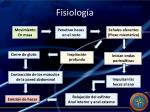 fisiolog a