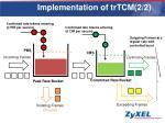 implementation of trtcm 2 2