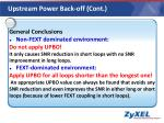 upstream power back off cont2