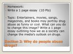 section 2 why do people abuse drugs4