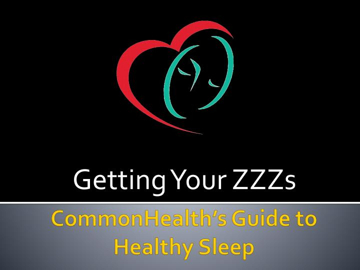 getting your zzzs n.
