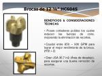 brocas de 12 hc604s