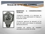 brocas de 12 mxl cs20dx1