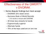 effectiveness of the qwerty v dvorak