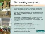 fish smoking oven cont