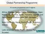 global partnership programme