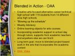 blended in action oaa