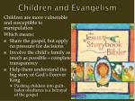 children and evangelism