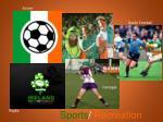 sports recreation