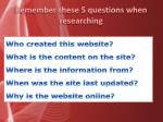 remember these 5 questions when researching