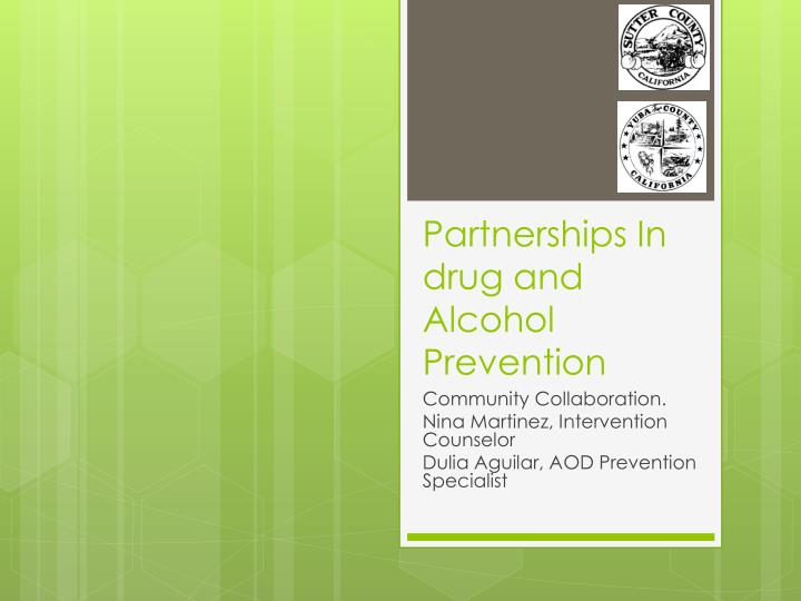 partnerships in drug and alcohol prevention n.