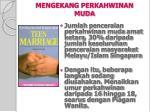 mengekang perkahwinan muda