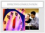 effective consultation1