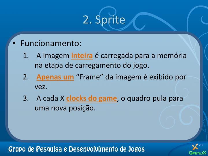 2. Sprite