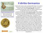 il diritto germanico